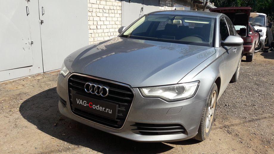 Audi A6(С7)-2013м/г - активация и кодирование скрытых функций от VAG-Coder.ru