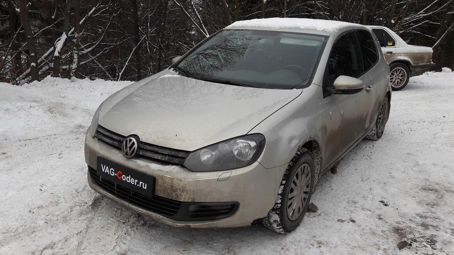 VW Golf VI-1,4SI(CAXA)-МКП6-2012м/г - обновление прошивки блока управления двигателя от VAG-Coder.ru
