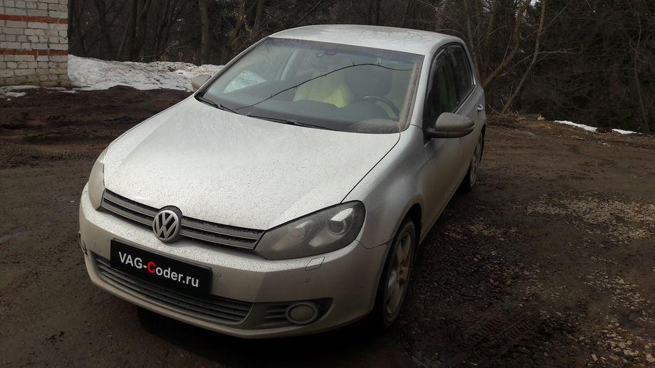 VW Golf VI-1,4SI(CAXA)-DSG7-2012м/г - обновление навигационных карт и персональных точек POI на штатной медиасистеме RNS510 (Columbus) от VAG-Coder.ru