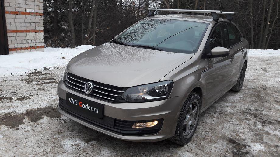 VW Polo Sedan-1,6MPI(CWVA)-АКПП6-2016м/г - активация и кодирование скрытых функций, обновление прошивки блока управления автоматической коробкой передач АКПП6 (AISIN AG6 G3) от VAG-Coder.ru