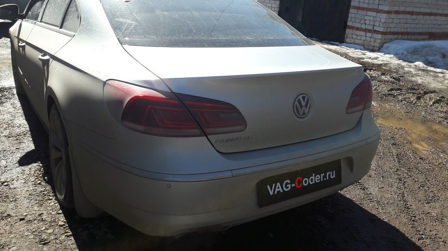 VW PassatCC-1,8TSI(CDAB)-МКП-2012м/г - устранение ошибки 03375 механической неисправности (поломки) усилителя рулевого управления, перепрошивка руля от VAG-Coder.ru