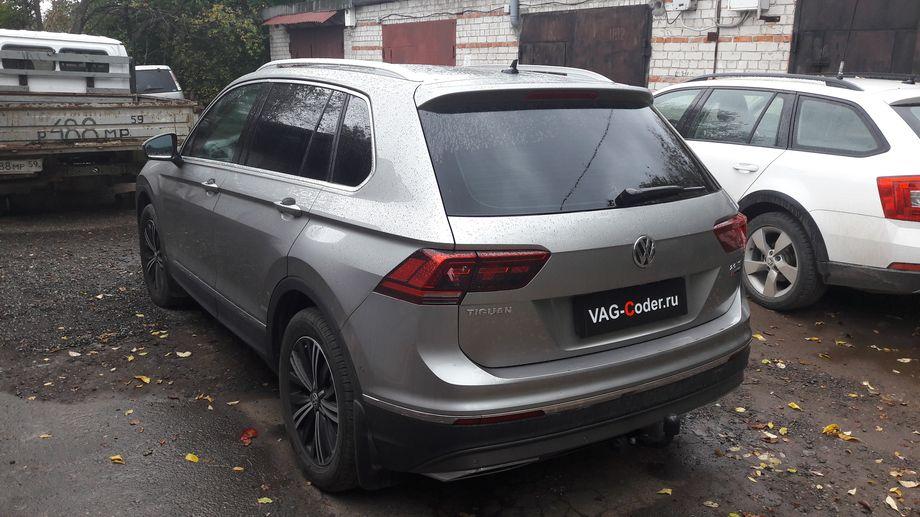 VW Tiguan New-2,0TSI-4х4-DSG7-2017м/г - кодирование и активации скрытых функций от VAG-Coder.ru
