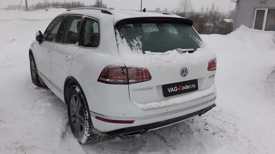 VW Touareg-3,0TDI(CRCD)-4х4АКПП8-2017м/г - кодирование и активации скрытых функций от VAG-Coder.ru