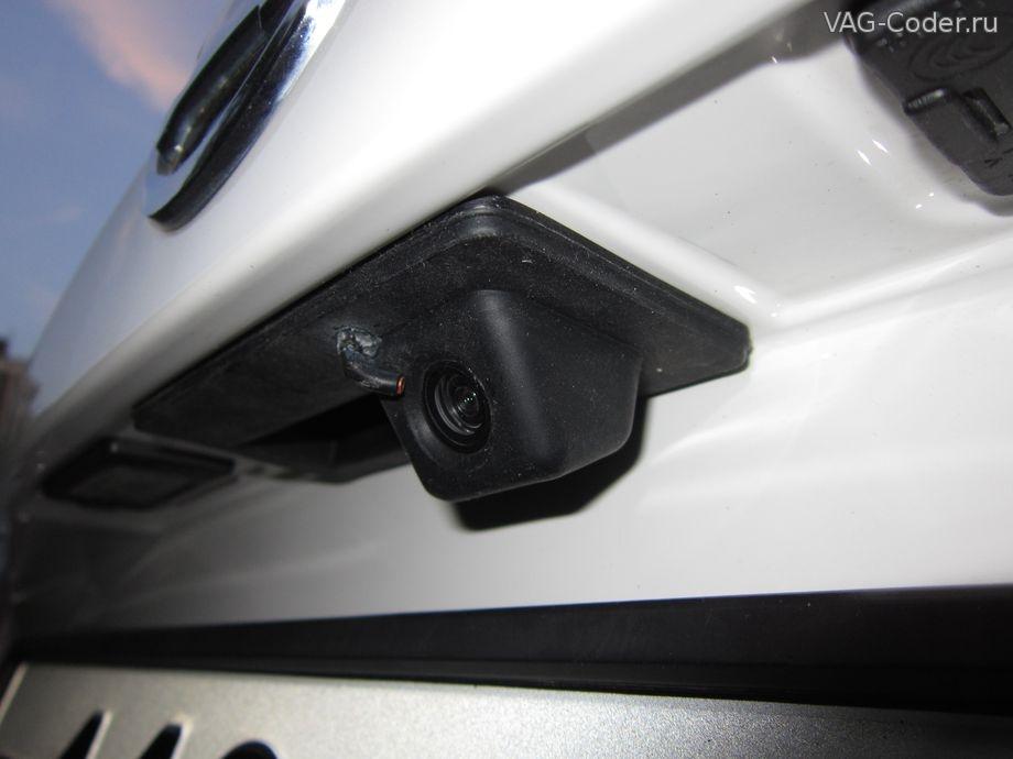 установка камеры заднего вида skoda octavia a7