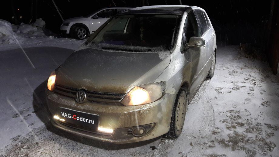VW Golf 6 Plus-1,6MPI(BSE)-2012м/г - прошивка двигателя CatOff под ЕВРО-2 от PetranVAG Tunned на отключение лямбда-зонда неисправного катализатора от VAG-Coder.ru