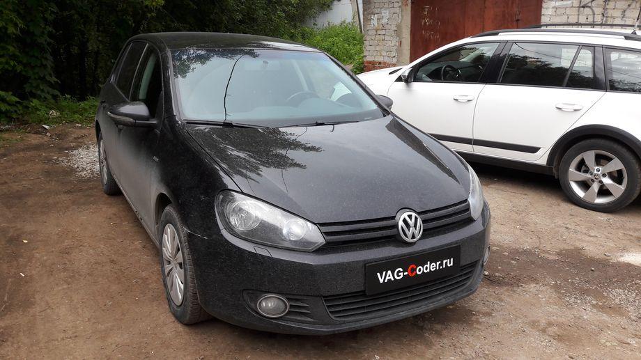 VW Golf VI-1,6MPI(BSE)-МКП5-2013м/г - чип-тюнинг PetranVAG Tuned, перепрошивка руля от VAG-Coder.ru