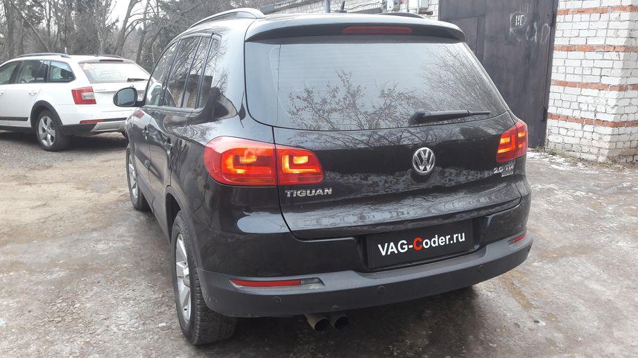 VW Tiguan-2,0TDI(CLJA)-4х4-АКПП6-2012м/г - мод EGRoff от PetranVAG Tuned, обновление прошивок блоков ABS и АКПП6, кодирование и активации скрытых функций от VAG-Coder.ru