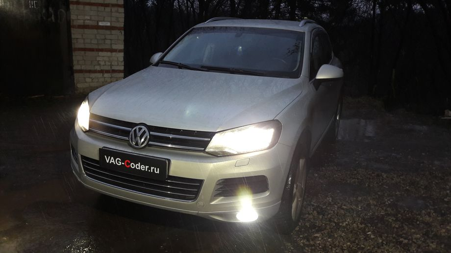 VW Touareg-3,0TDI(CRCA)-4х4-АКПП8-2012м/г - чип-тюнинг PetranVAG Tuned, кодирование и активации скрытых функций от VAG-Coder.ru