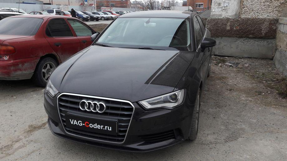 Audi A3(8V) Sedan-1,4TSI-DSG7-2016м/г - VAG-Coder.ru
