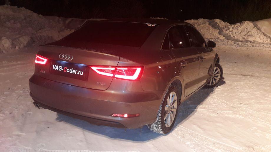 Audi A3(8V)-1,4TSI-DSG7-2014м/г - активация бортового компьютера и кодирование функций от VAG-Coder.ru