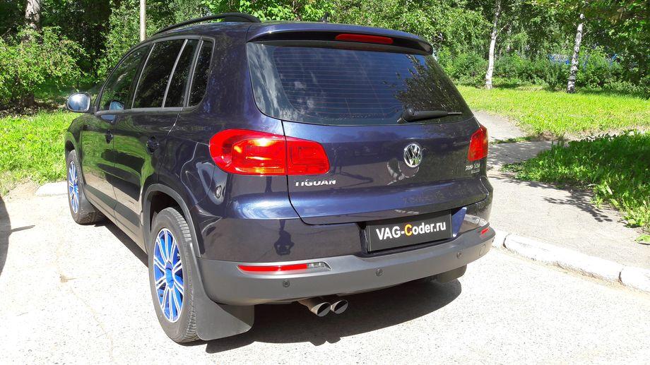 VW Tiguan - обновление ПО от VAG-Coder.ru