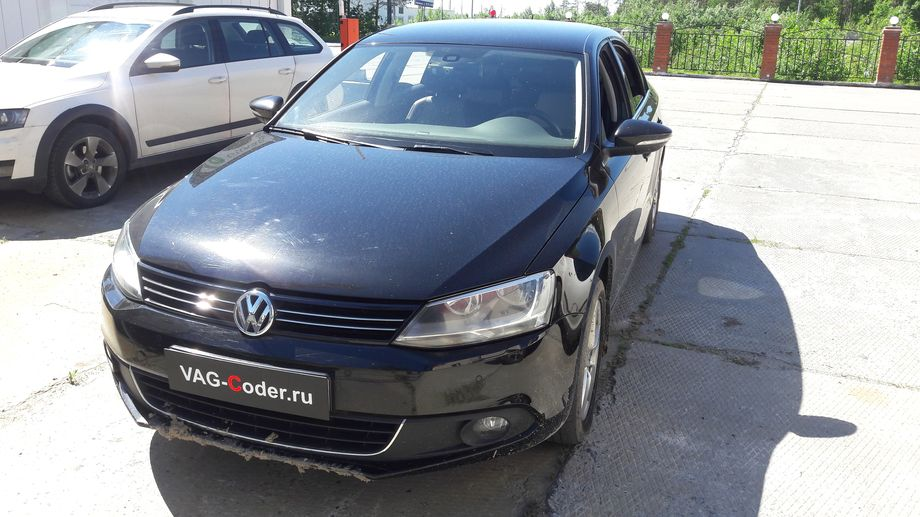 VW Jetta VI-1,4TSI(CTHA)-МКП6-2013м/г - обновление прошивки и навигационных карт на RNS510 от VAG-Coder.ru