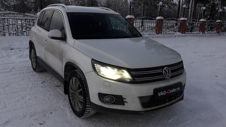 VW Tiguan-2,0TSI-4х4-АКПП6-2012м/г - обновление прошивки и карт магнитолы RNS510 от VAG-Coder.ru