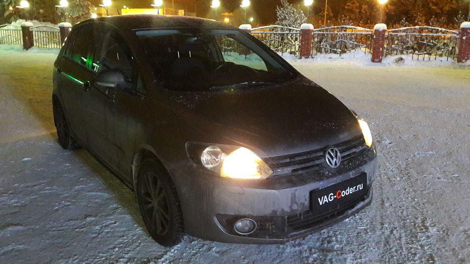 VW Golf VI Plus-1,6MPI(BSE)-DSG7-2010м/г - чип-тюнинг DSG7 PetranVAG-Tuned от VAG-Coder.ru