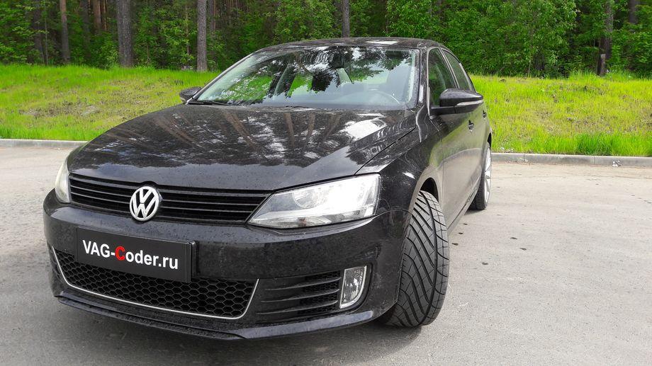 VW Jetta VI-1,4TSI(CAXA) - активация и кодирование скрытых функций и чип-тюн PetranVAG Tuned от VAG-Coder.ru